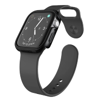 Чехол X-Doria Defense Edge для Apple Watch 44 мм Чёрный