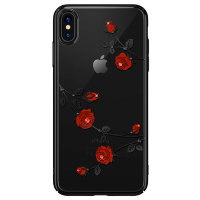 Чехол Kingxbar Blossom для iPhone Xs Max Rose